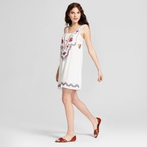 xhilaration embroidered dress